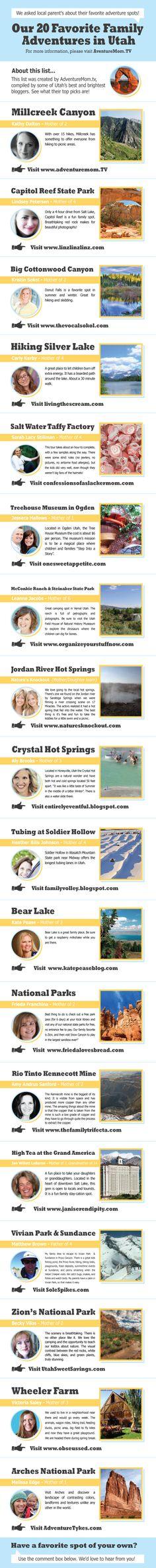 Bloggers' Picks for Utah