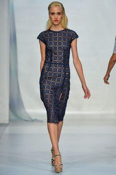 Luisa Beccaria - Spring 2014 RTW - Milan Fashion Week