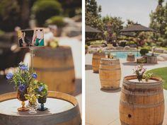 Fun, Informal, Warm, and Welcoming: A Bohemian Backyard Wedding