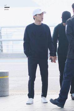 151017: EXO Chen (Kim Jongdae); Incheon Airport to Guangzhou Airport #exom #fashion #style #kfashion #kstyle