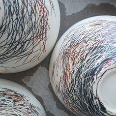 """Nest bowls fresh from the kiln part of a fantastic group exhibition """"Marketplace"""" opening this Friday at Artisan @artisanqld  in Brisbane. Other artists include the divine teawares of Prue Morrison and Ginny Jones, tableware from Kim Wallace @kimwallace_ceramics , furniture from Backwoods Originals , tea ceremonies, artisan bread and upcycled glass beakers from Jo Bone. #slowliving #artisan  #pottery #vscocam"""