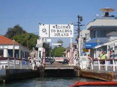 Ferry to Balboa Island, Newport Beach
