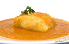 Bacalao a la Vizcaína Tapas, Good Food, Yummy Food, Spanish Food, Barbacoa, Fish Recipes, Crockpot, Slow Cooker, Pineapple