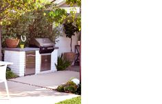 brick BBQ / molly wood garden design