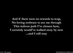 The Patient #lyrics #Tool #Band
