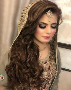 Discover more about wedding preparation morning Check the webpage for Pakistani Bridal Makeup, Asian Bridal Makeup, Pakistani Wedding Dresses, Bridal Beauty, Bridal Outfits, Bridal Dresses, Wedding Attire, Wedding Bride, Engagement Hairstyles