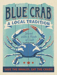 Anderson Design Group – The Coastal Collection – Blue Crab
