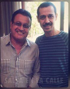 Ismael Miranda and Eddie Santiago