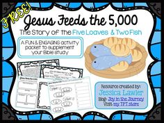 Looking for a FUN & ENGAGING packet to supplement your Bible study of Jesus…