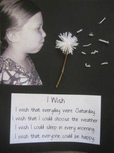 I Wish... writing activity