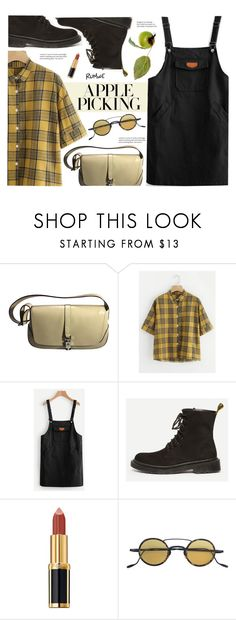 """""""Harvest Time: Apple Picking"""" by meyli-meyli ❤ liked on Polyvore featuring Gucci, Balmain, Jacques Marie Mage and applepicking"""