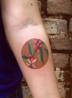 Cassio Magne berry tattoo