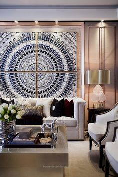 30 Formal Living Room Design Ideas (Pictures) You Won't Miss - Best Living Room Decor Contemporary Interior Design, Decor Interior Design, Interior Decorating, Contemporary Rugs, Asian Interior Design, Japanese Interior, Formal Living Rooms, Living Spaces, Modern Living