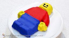 Easy Awesome Lego Man Cake