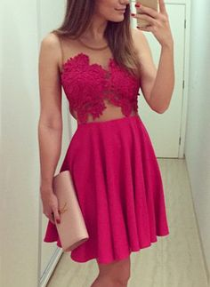 Sleeveless With Sheer Mesh Lace Pleated Dress