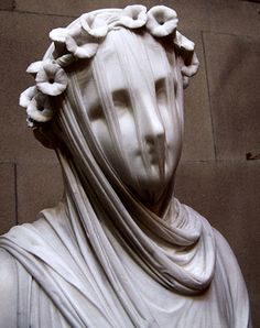 The Veiled Lady by Raffaelo Monti