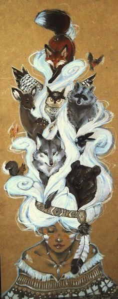 Spirit Totem Animals