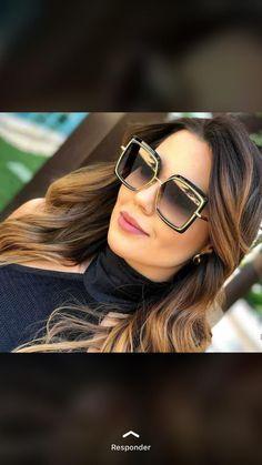 Temos variedade para que você encontre o ideal para seu formato de rosto  #oculosgrande #oculosdesolquadrado Gucci, Ideias Fashion, Sunglasses Women, Big Glasses, Women's Sunglasses, Men And Women, Fashion For Men, Lenses, Trends