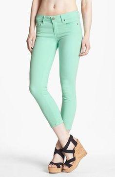 Paige Denim Kylie Crop Jeans Glass Paige