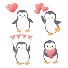 Cute Penguin Cartoon, Penguin Clipart, Penguin Art, Cute Clipart, Penguin Images, Penguin Cartoon Drawing, Cute Animal Clipart, Pinguin Illustration, Graphic Illustration