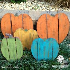 Painted Pallet Pumpkin Patch by Walnut Hollow