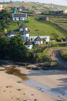 Coffee Bay is a small community of interest in Wild Coast Eastern Cape Province South Africa. Paises Da Africa, Out Of Africa, South Africa, Wonderful Places, Beautiful Places, Clifton Beach, Places Of Interest, Africa Travel, Places To See