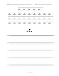 Cursive small letter b practice worksheet Good ideas