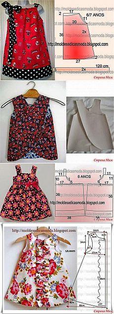 39 Super Ideas For Dress Pattern Baby Moda The Effective Pictures We Offer You About baby dress patt Kids Dress Patterns, Sewing Patterns Girls, Clothing Patterns, Skirt Patterns, Coat Patterns, Blouse Patterns, Little Dresses, Little Girl Dresses, Baby Dresses