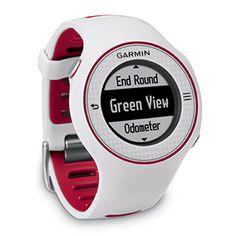 Garmin Approach S3 Golf Watch (Color : White / Red Trim)