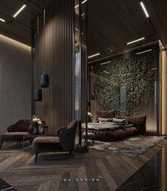 Modern Luxury Bedroom, Luxury Bedroom Design, Luxury Loft, Room Design Bedroom, Bedroom Furniture Design, Luxurious Bedrooms, Home Design, Küchen Design, Modern House Design