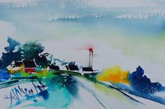 WORKSHOP OF SMALL SEA - Watercolors Olivia QUINTIN Brittany