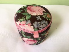 A personal favorite from my Etsy shop https://www.etsy.com/listing/243838592/floral-fabric-music-box-trinket-box