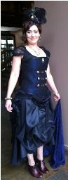 Tutorial: Steampunk bridesmaid dress