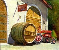 Featured Art - Tractor Pull by Karen Fleschler