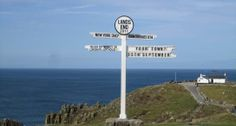 Mainland Britain's most south-westerly point + one of the country's most famous landmarks. West Cornwall, Cornwall England, Fear Of Flying, Republic Of Ireland, Famous Landmarks, Holiday Apartments, Cata, Wanderlust Travel, Northern Ireland