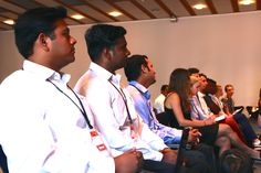 DCUC students present their pre-liminary projects at IBM, Denmark.