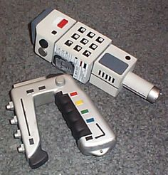 Dream accessories from Space 1999. Stunner and Comlock.