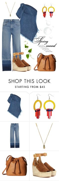 """Spring Mood."" by schenonek ❤ liked on Polyvore featuring Marques'Almeida, Toolally, 3x1, Marc Jacobs, ECCO and Chloé"