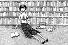 She just wanted to read books and do nothing else