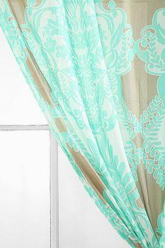 Vine Flourish Curtain Urban Outfitters $39