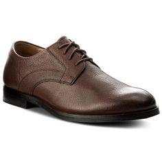 Pantofi CLARKS - Corfield Mix 261274767 Tan Interest Leather Men Dress, Dress Shoes, Clarks, Derby, Oxford Shoes, Lace Up, Leather, Fashion, Moda