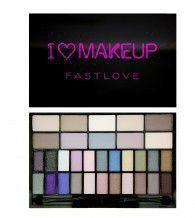 Makeup Revolution I Heart Makeup  Fast Love  32 Shades Palette >>> See this great product. (Note:Amazon affiliate link)
