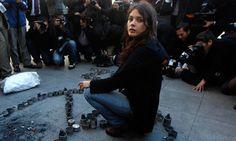 Camila Vallejo, the female revolutionary of South America.