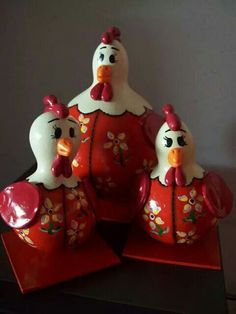 Biscuit Rooster Decor, Chickens And Roosters, Gourd Art, Do It Yourself Projects, Gisele, Primitives, Gourds, Coco, Biscuit