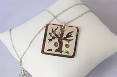 Fall Jewelry - Tree of Life Necklace - Sterling Silver Jewelry- by FUELLJewelry $49.99