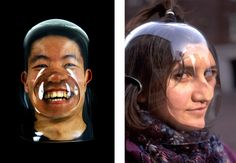 Bohyun Yoon : lens masks Stuck In My Head, Bubble Art, Art Work, Identity, Masks, Bubbles, Archive, Lens, Artists