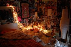 pics collage and lights..great room