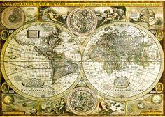 World Map - Historical Juliste AllPosters.fi-sivustossa
