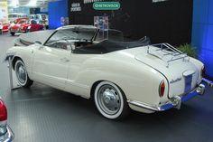 A traseira do inusitado modelo elétrico (Museu VW Alemanha)