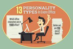 Infographie : Quel collègue de bureau êtes-vous ?Il etait une pub – Le blog d'actualite publicitaire